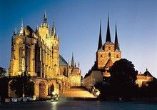 Erfurt - die sympathische Landeshauptstadt