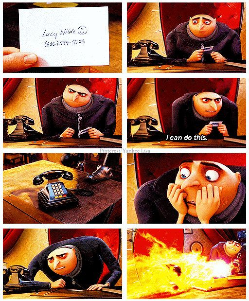 Despicable Me 2 ... dating. OMFG. the best!!!! Absolute best movie I have seen in a while! I love the minions in this one had me DYING!!! I don't have enough words to explain