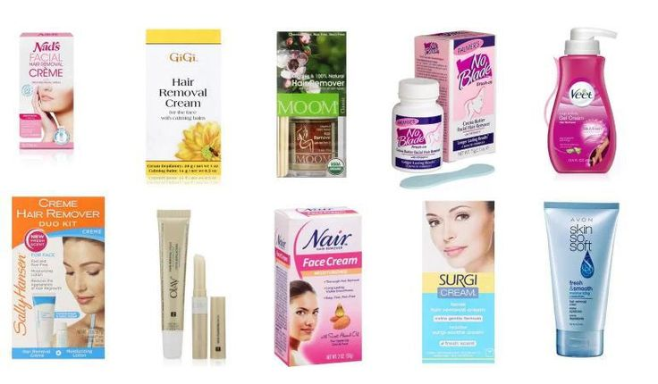 Best 10 Facial Hair Removal Creams for Women - With A Promise