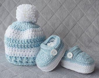 Niño sistema sistema del ganchillo bebé niño por DaisyNeedleWorks
