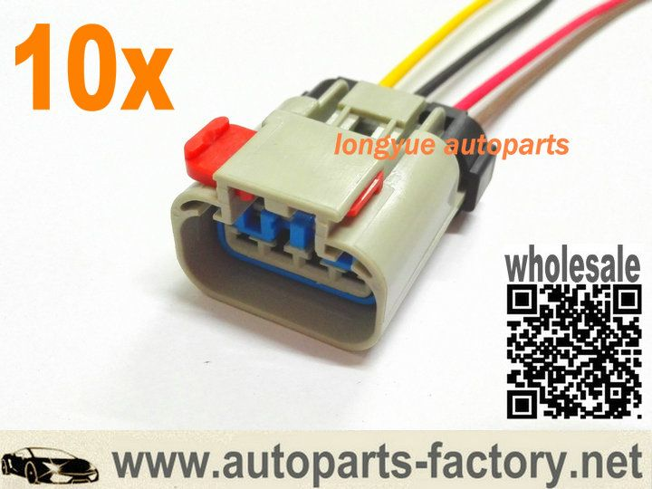 Longyue  Connector Fuel Pump Sender Wiring Harness Gas