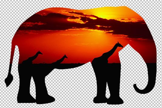 Crop your photo into interesting shapes with the Cookie Cutter. [Credit: Corbis Digital Stock]