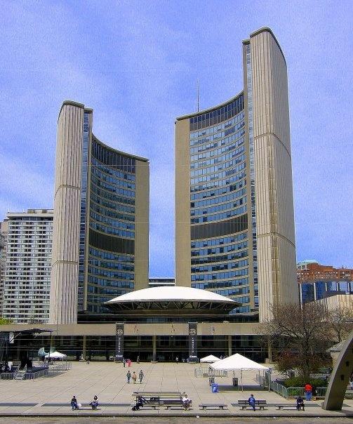 Toronto City Hall - summer 1978