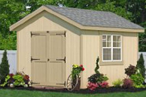 Classic Wooden Storage Sheds for PA, NJ, NY, CT, DE, MD, VA, WV direct from the Amish in Lancaster, PA. Buy small or large wooden sheds for storage direct.
