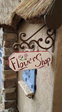 Market Playhouse Sign -Fancy Built
