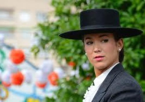 Traditional Spanish Riding Hat