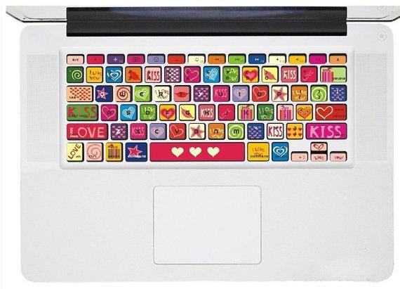 #loveit #macbook #keyboard #decoration #love #cartoonish