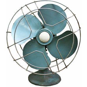 Aurora Mills Mid-Century Fan Blue