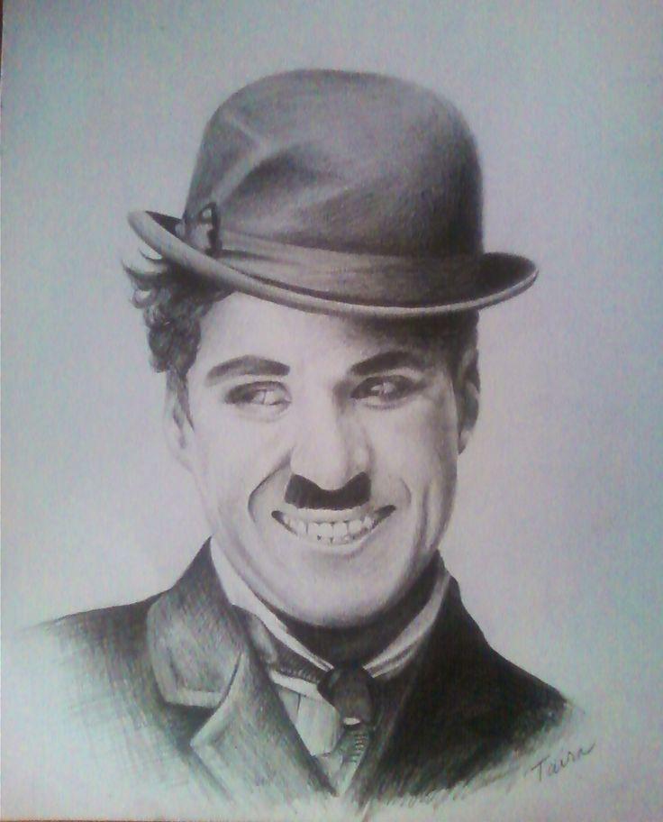 My pencil drawing of Charlie Chaplin | Charlie Chaplin Art ...