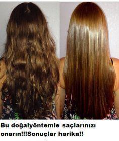Saçlarınızı onaran süper doğal yöntem