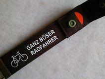 Fahrrad Schlüsselband mit Einkaufschip Radfahrer Geschenk für Fahrradfahrer