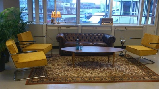 "The lounge in ""The Loft"" at Seats2Meet in Utrecht (NL)"