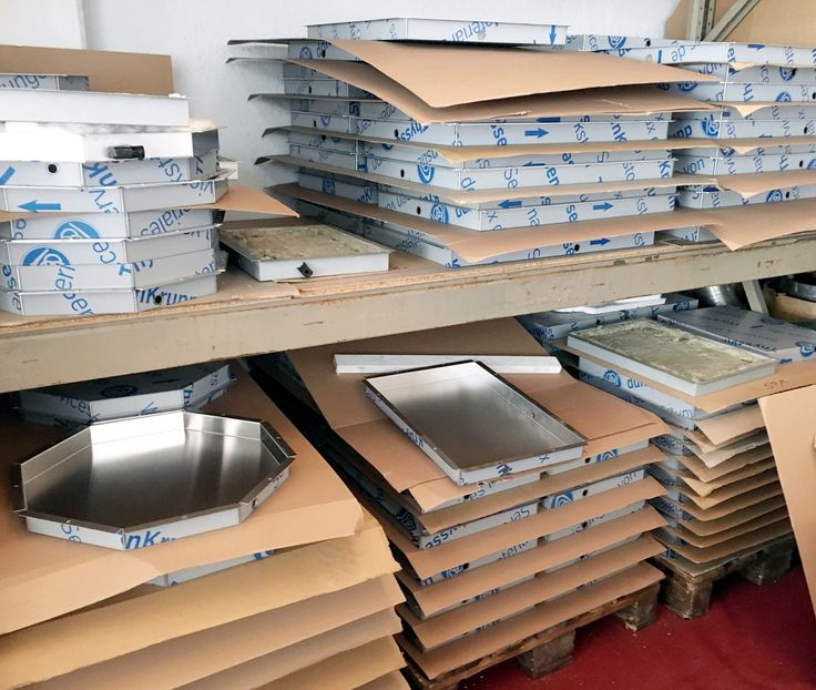 It's all ThyssenKrupp stainless steel in this behind the scenes peek from the manufacturer's warehouse in Germany.