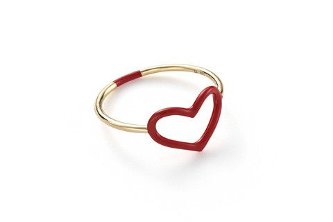 Jordan Askill Heart Ring Cheap