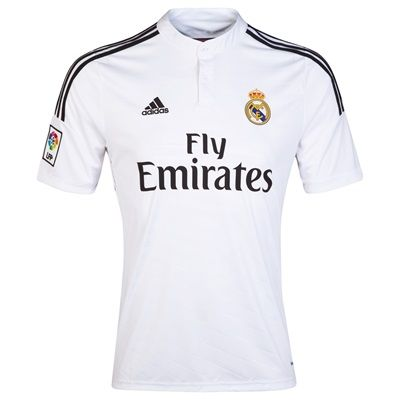 n/a Real Madrid Home Shirt 2014/15 - Kids F49664 Real Madrid Home Shirt 2014/15 - Kids White Let your child support their favourite team in this Real Madrid Kids Home Shirt which is styled with an iconic star to celebrate the championship. New for 2 http://www.MightGet.com/february-2017-2/n-a-real-madrid-home-shirt-2014-15--kids-f49664.asp