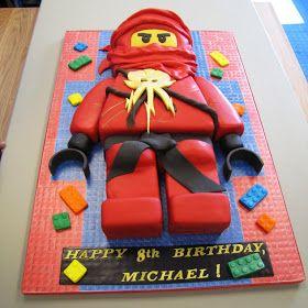 BlakesCakes--My Cakes & Classwork: Let Go O' My Ninjago!!!