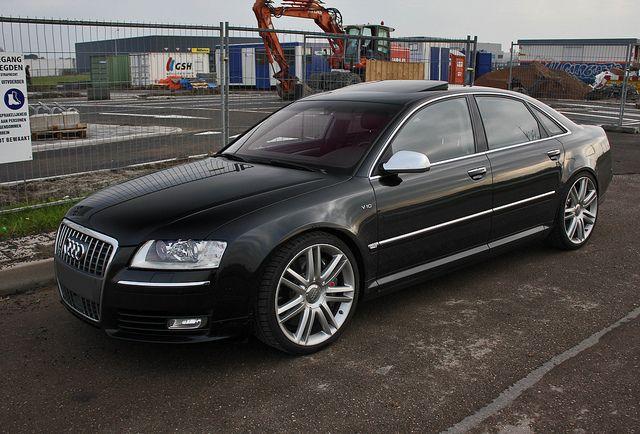 Audi S8 - The Transporter 3   Chitty Chitty Bang Bang ...