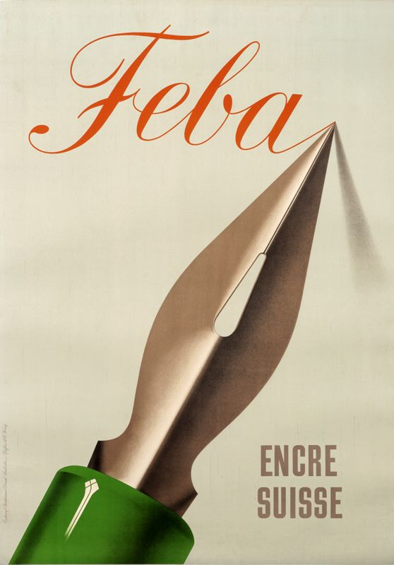 Feba - Encre Suisse (French Text) by Birkhauser, Peter
