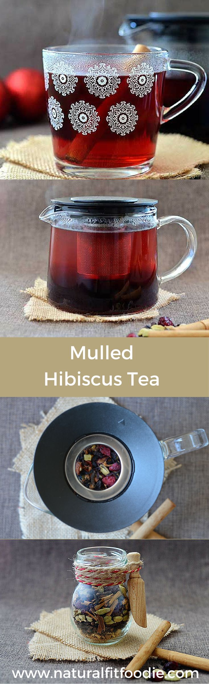 Move over mulled wine and cider here's a delicious non alcoholic festive drink everyone can enjoy! Being able to sip on this mulled hibiscus tea all day is a real winter treat and helps me appreciate the season.