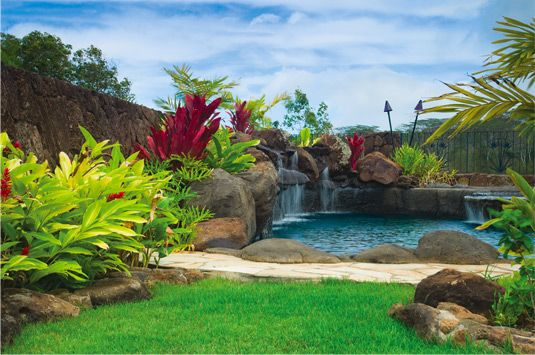 17 best images about pool ideas on pinterest swimming for Pool design hawaii