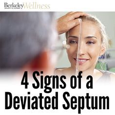 A deviated septum can interfere with normal breathing and cause other #health problems. But whether it needs to be treated depends on the symptoms. #beauty #sleep