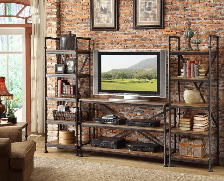Camden Town Entertainment Wall | Riverside Furniture | Home Gallery Stores