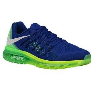 my husband's Xmas list since they're Seahawks colors - nike airmax 2015 men