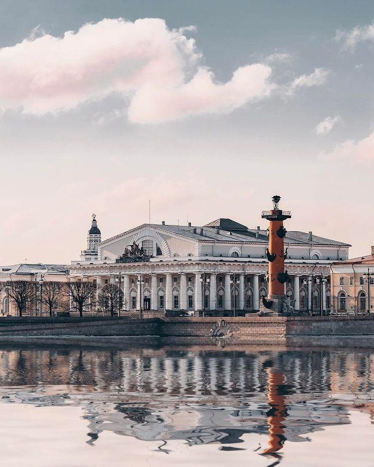 Стрелка Васильевского острова. Автор: Андрей Михайлов (Andrei_mikhailov).