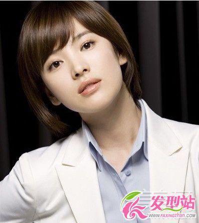 短髮韓國女明星 | 款韩国女星短发发型图片-短发发型-发型站_最新流行 ...