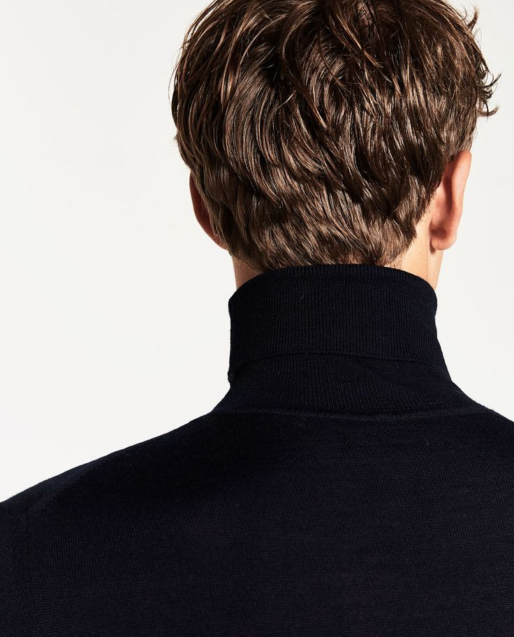 ZARA - MAN - TURTLE NECK SWEATER