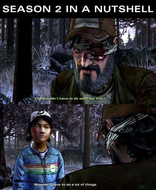 Kenny and Clementine, twdg season 2 | The Walking Dead (Telltale Game)