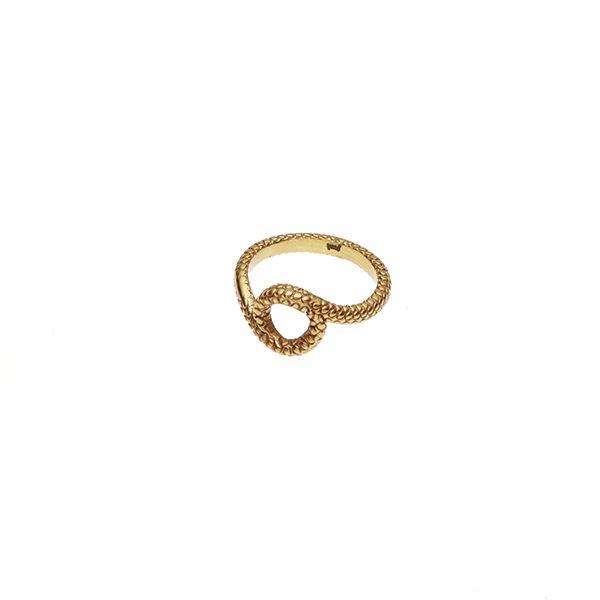 PUSHMATAaHA // Mother Serpent Ring / Gold