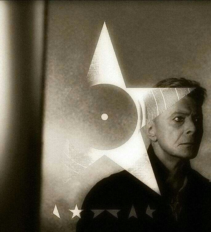 "David/Blackstar.....""You promised me that the ending would be clear / You'd let me know when the time was now / Don't let me know when your opening the door / Stab me in the dark, let me disappear....."""