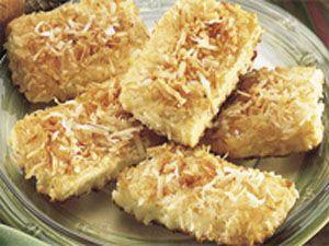 Hawaiian Pineapple Bars Recipe | Naughty Food | Pinterest | Bar ...