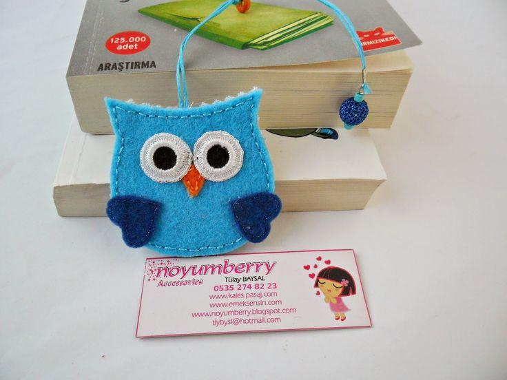 ! noyumberry !: ♥♥Noykuş Keçe Kitap Ayraçları♥♥