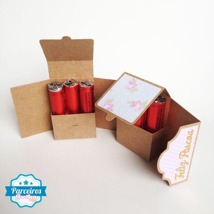 free double pocket wrap box DIY STUDIO 3D with tutorial