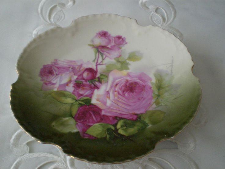 antique marseille bavaria z s amp co hand painted german porcelain