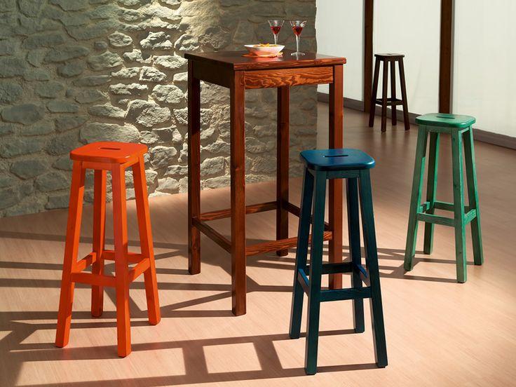 Pi di 25 fantastiche idee su sgabelli da bar cucina su - Sgabelli in legno per cucina ...