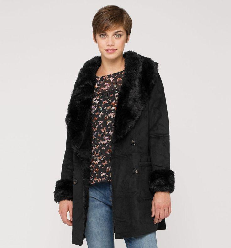 Sklep internetowy C&A | Płaszcz, kolor:  czarny | Dobra jakość w niskiej cenie