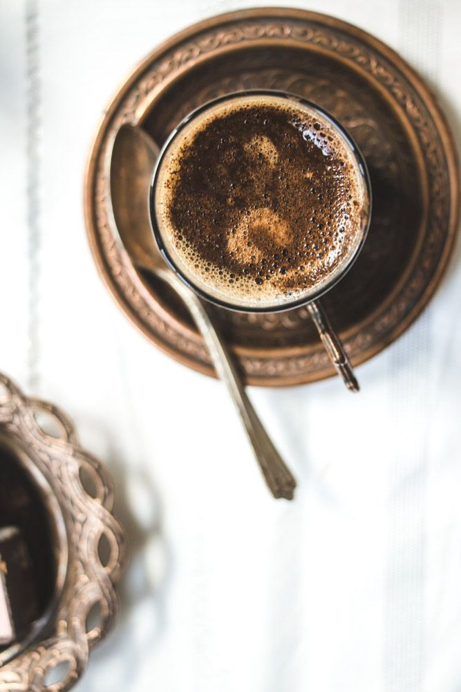 How To Make Turkish Coffee With Or Without An Ibrik Recipe Turkish Coffee Turkish Coffee Recipe Turkish Coffee Cups