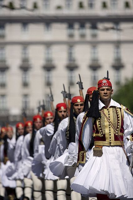 Athens National Guard by Breathtaking Athens, via Flickr