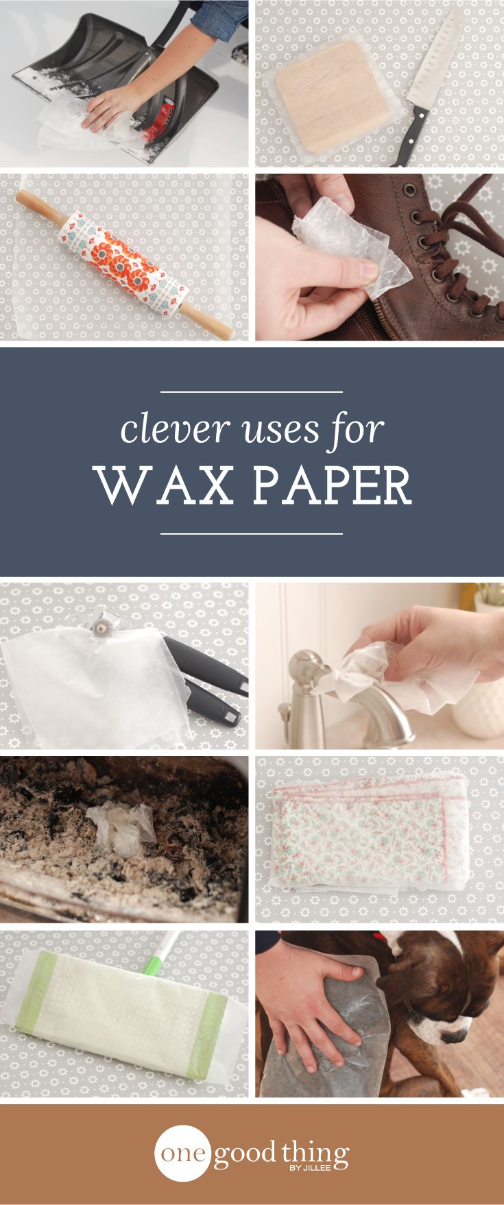 Household Uses for Wax Paper                                                                                                                                                                                 More