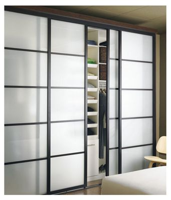 Sliding doors for the laundry room.  -Sliding Door Company