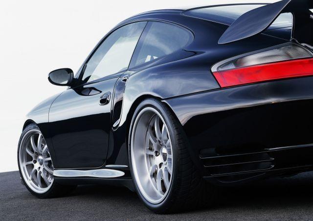 2001 Porsche 911 GT2 SP650 by Sportec  I love the lip on a german car's rims.