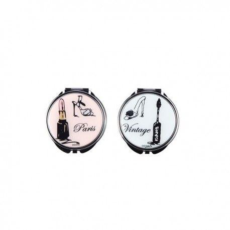 """""""PARIS"""". Perfecto para llevar en un bolso o bolsillo. Se sirve en 4 diseños surtidos  Medidas: 6 x 6,8 cm"""