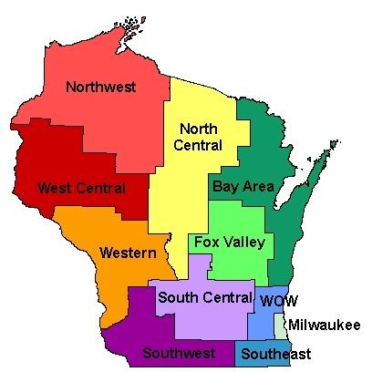 Best MADISON WISCONSIN Images On Pinterest Madison Wisconsin - Wisconsin counties map