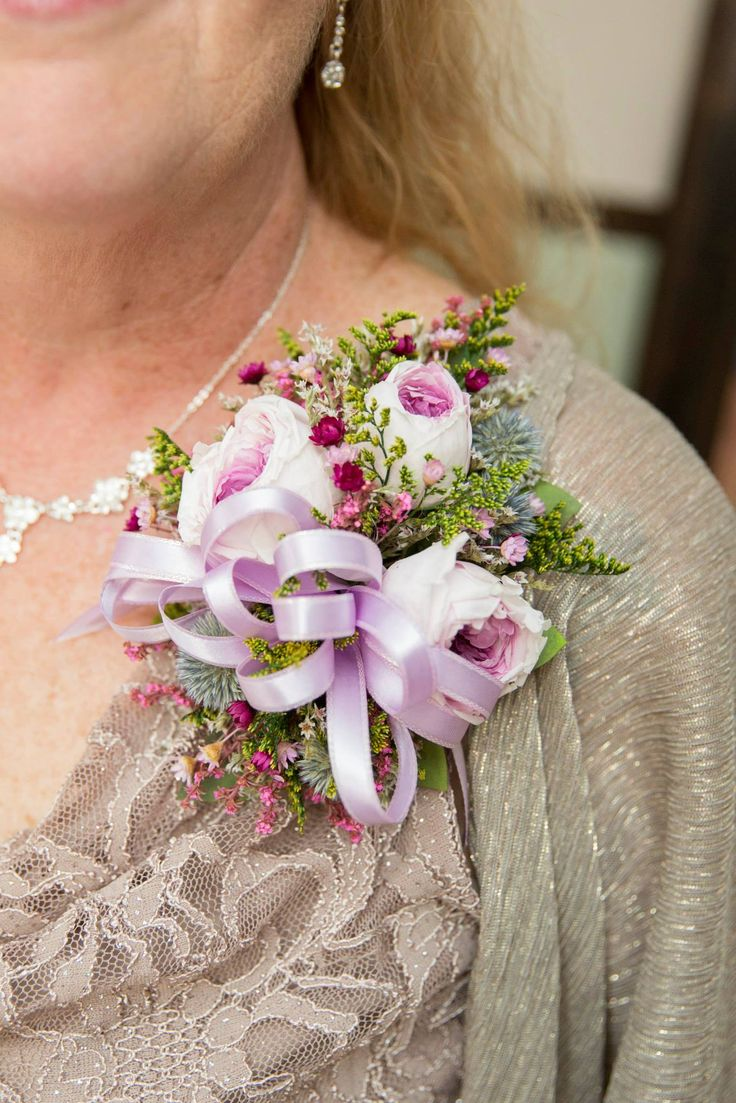 Mother Of The Bride Pin On Corsage Photo Courtesy Green Holly