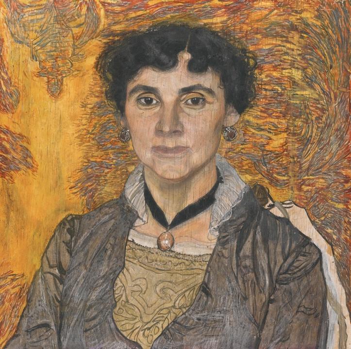 Alexander Golovin, Portrait of a Lady