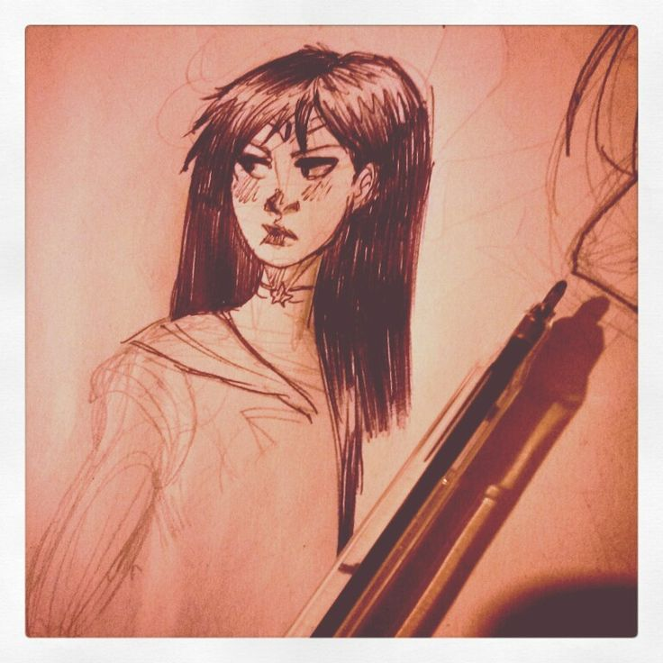 Sailor Mars  sketch by Sand  Bongiorni  on pinterest
