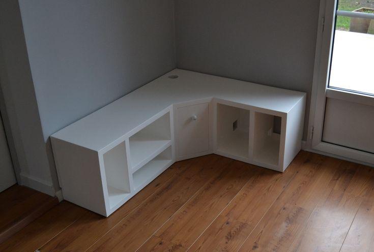 Fabriquer un meuble TV en placo u2026 Pinteresu2026